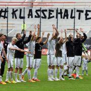 Letzter Spieltag der 2. Liga: Wer steigt ab, wer auf? (Foto)