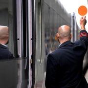 Fast alle Züge fahren wieder nach Plan (Foto)