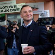 Präsidenten-Stichwahl in Polen begonnen (Foto)