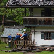 Ursache für Großbrand mit sechs Toten weiter unklar (Foto)