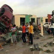 13 Tote bei Tornado in Mexiko (Foto)