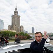 Glückwünsche an den neuen polnischen Präsidenten (Foto)