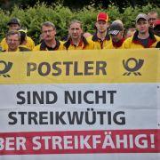 Post darf im Streik weiter Beamte einsetzen (Foto)