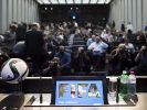 Riesen Ansturm nach Verhaftung der Fifa-Funktionäre bei der offiziellen Pressekonferenz. (Foto)