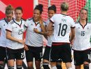 Die Frauen-Fußball-Nationalmannschaft trifft im letzten Testspiel vor der WM in Kanada auf die Schweiz. (Foto)