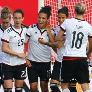 DFB-Frauen siegen 3:1 gegen die Schweiz (Foto)