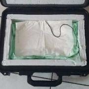 Gestohlener Koffer mit Knochenmarkspende entdeckt (Foto)