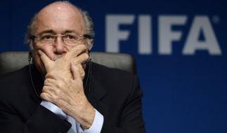 Wie geht es für Fifa-Chef Joseph Blatter weiter? (Foto)