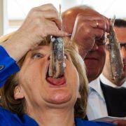 Die appetitliche Angie wird zum Internetlacher (Foto)