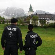 Ausnahmezustand zum G7-Gipfel auf Schloss Elmau (Foto)