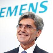 Siemens-Chef Kaeser verteidigt Stellenabbau (Foto)