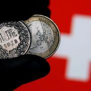 Frankenschock lässt Schweizer Wirtschaft schrumpfen (Foto)
