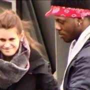 Youtuber JokaH Tululu macht den Rassismus-Test auf den Straßen Hamburgs.