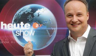 """Oliver Welke erreicht m it seiner """"heute show"""" im ZDF Millionen Fans. (Foto)"""