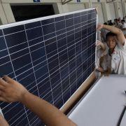 EU wirft China Trickserei bei Solar-Exporten vor (Foto)