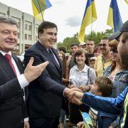 Georgiens Ex-Präsident wird Gebietsgouverneur in der Ukraine (Foto)