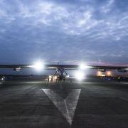 «Solar Impulse 2» zu riskantem Pazifik-Überflug gestartet (Foto)