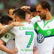 VfL Wolfsburg holt sich den Pokal (Foto)