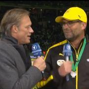 Im Video: Kloppo-Ausraster nach Pokal-Niederlage (Foto)