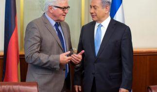 Steinmeier fordert Israel zu Verhandlungen auf (Foto)