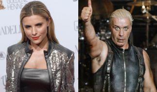 Sophia Thomalla und Rammstein-Rocker Till Lindemann. (Foto)