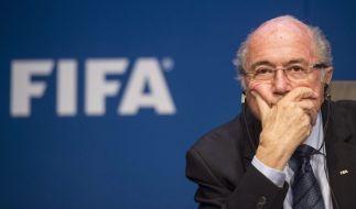 Joseph Blatter soll bei der WM-Vergabe 2022 nicht für Katar gestimmt haben. (Foto)