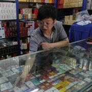 Peking verbietet Rauchen in der Öffentlichkeit (Foto)