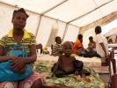 In Bangui sollten Uno-Soldaten ein Flüchtlingscamp bewachen - und vergriffen sich dort offenbar an hungernden Kindern. (Foto)