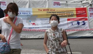 Mers-Virus fordert erste Todesopfer in Südkorea. (Foto)