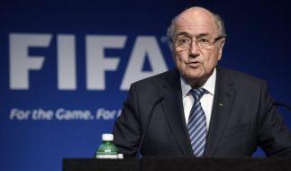 Joseph Blatter ist nicht länger Präsident des Weltfußballverbandes FIFA - er trat am Dienstag überraschend von seinem Amt zurück. (Foto)