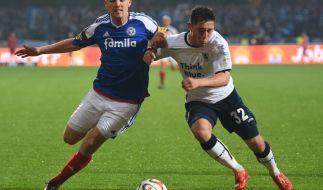 Im Rückspiel der Relegation 2015 zwischen dem TSV 1860 München und Holstein Kiel entscheidet sich, wer auf- und wer absteigt. (Foto)