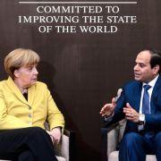 Ägyptischer Präsident beginnt Besuch in Deutschland (Foto)