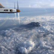 Schweizer Sonnenflieger wird in Japan repariert (Foto)