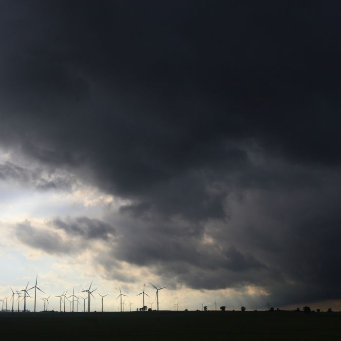 Tornado-Warnung und Schafskälte vermiesen den Sommeranfang (Foto)