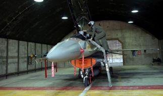 Nach Raketenabschuss: Israel fliegt Luftangriff auf Gaza (Foto)