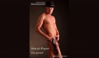 Heißer Cowboy: Dänischer Politiker gibt sein letztes Hemd. (Foto)
