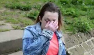 Sie ist den Tränen nah: Becky Major erzählt von ihren Erlebnissen. (Foto)