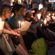 Friedensdebatte und Menschenkette: Endspurt beim Kirchentag (Foto)
