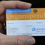 Umfrage: Organspende kein Randaspekt in Deutschland (Foto)