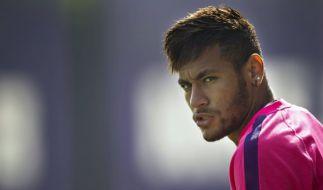 Neymar hat Ärger mit dem Finanzamt. (Foto)