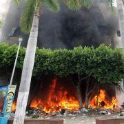 Krawalle und Plünderungen vor Wahl in Mexiko (Foto)