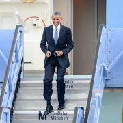 Obama zu G7-Gipfel in Bayern gelandet (Foto)