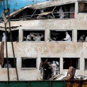 Nach Schiffskatastrophe inChina: Mehr als 400 Tote (Foto)