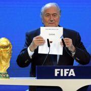 Fifa erwägt Neuvergabe der WM in Russland und Katar (Foto)
