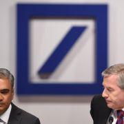 Deutsche-Bank-Chefs treten zurück (Foto)