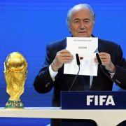 Wegen Korruption in der FIFA wird eineNeuvergabe der WM 2018 und 2022 denkbar! (Foto)