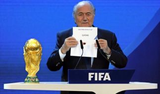 Sepp Blatter muss die WM 2022 neu vergeben. (Foto)