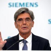 Proteste gegen Jobabbau bei Siemens (Foto)