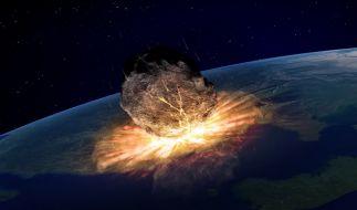 Bald ist Schluss: Ein riesiger Asteroid soll die Menschheit angeblich im September vernichten. (Foto)