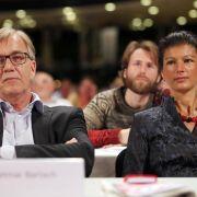 Wagenknecht und Bartsch sollen Linke-Bundestagsfraktion führen (Foto)